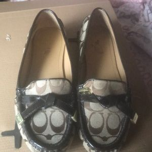 Coach Frida Driving Loafers Sz 8